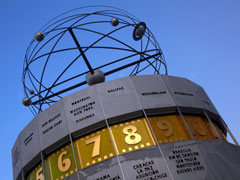 Alexanderplatz atomic clock, Berlin, Germany