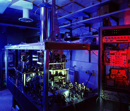 atomic clock at the NIST, Boulder, Colorado
